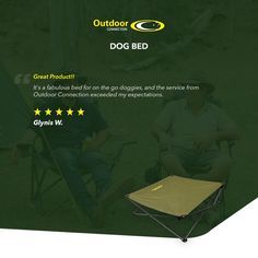 """Great Product!! It's a fabulous bed for on the go doggies, and the service from Outdoor Connection exceeded my expectations."" - Glynis W. Click the link for more info #theoutdoorconnection #campingaustralia #exploreaustralia #weareexplorers #offroad #4x4 #campinggoals #camperlifestyle #campingadventures #stargazing #tent #campsite #campingwithdogs #tentdiaries #australian_vacations #beautifuldestinations #seeaustralia #explore #adventures #beautiful_world #travel #solotraveller"