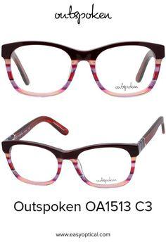 OUTSPOKEN OA1513 C3 Eyewear, Glasses, Easy, Style, Swag, Eyeglasses, Eyeglasses, Sunglasses, Eye Glasses