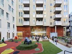 David Baker + Partners complete Station Center, an affordable residential project in Union City that is certified LEED Platinum.