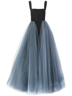 Shop Christian Siriano layered tule gown in Christian Siriano from the world's… Christian Siriano, Formal Evening Dresses, Elegant Dresses, Pretty Dresses, Long Dresses, Style Couture, Couture Fashion, Beautiful Gowns, Beautiful Outfits
