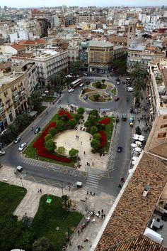 Plaza de la Reina. Valencia - Spain.