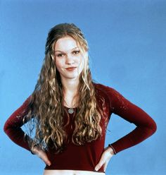 10 Things I Hate About You - I fully admit that when I think about growing out my hair, I think about Julia Stiles in this movie. I still love it and her many annoyed facial expressions. INTJ excellence.
