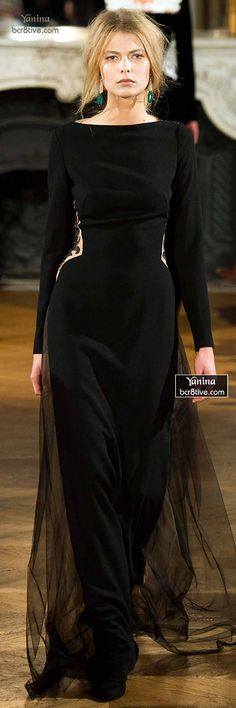 Yanina Fall 2014-15 Haute Couture jaglady