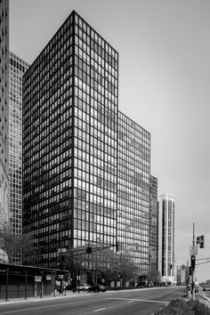 860-880 lake shore drive apartments / chicago / usa / ludwig mies van der rohe / 1951