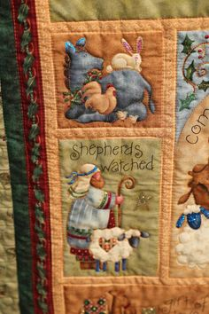 Baby Quilt Panels, Panel Quilts, Hanging Quilts, Quilted Wall Hangings, Joseph Crafts, Jesus Mary And Joseph, Christmas Fabric Crafts, Christmas Manger, Custom Quilts