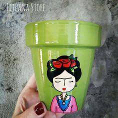 Frida ❤by Tijuana store macetas pintadas a mano