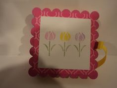 Card Corner by Candee: Post It Note Holders  many different designs!