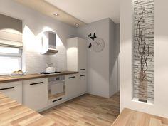 Przykładowa aranżacja kuchni dla projektu Ochojec DM-6170