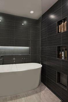 Contemporary Master Bathroom with Signature hardware eden acrylic tub, Freestanding, Master bathroom