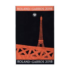 Official Roland-Garros 2018 men's player towel - navy blue CARRE BLANC CSVU0118-MAR - Boutique Officielle Roland-Garros Tour Eiffel, Davis Cup, Tennis Equipment, French Open, Tennis Clothes, Masters, Towel, Navy Blue, Paris