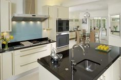 Kitchens are an especially suitable area for a granite worktop. Granite Exeter inspire a sense of luxury and beauty.