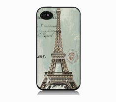 Paris vintage iphone 5  case design by IphoneDesign on Etsy