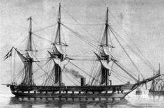 Danish Screw Frigate Sjælland Denmark History, Copenhagen Design, Naval History, Danish Royals, Navy Ships, Royal Navy, Battleship, Sailing Ships, Boat