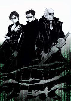 Matrix Reloaded Fanart by Danusko.deviantart.com on @DeviantArt