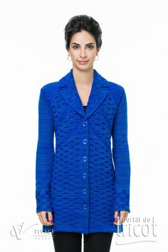 Portal do Tricot Sweaters, Tops, Women, Fashion, Elegant Woman, Charms, Tricot, Moda, Fashion Styles