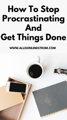 how to stop procrastinating Business Tips, Online Business, How To Start A Blog, How To Make Money, Productivity Hacks, How To Stop Procrastinating, Time Management Tips, Finance Tips, Making Ideas