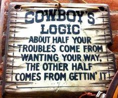 #CowboyLogic