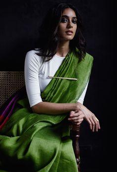 Designer Payal Khandwala shows you the millennial way to wear a saree Ethnic Fashion, Indian Fashion, Classy Fashion, Style Fashion, Fashion Beauty, Indian Dresses, Indian Outfits, Lehenga, Anarkali