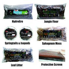 Jungle Floor Bioactive Vivarium Kit | Genesis Exotics LLC