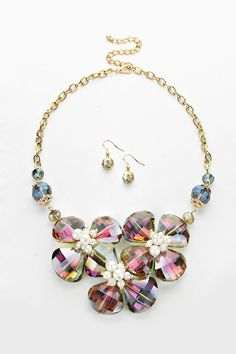 Crystal Lorel Necklace in Vitrail