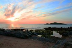 "coast, here the ""Pessegueiro Island"", near Porto Covo Spain And Portugal, Amazing Nature, Countryside, Beaches, Tourism, Sunrise, Destinations, Coast, Island"