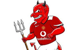 The devil in the details Manchester United Team, Soccer Art, Go Blue, Fa Cup, Man United, Football Team, Devil, The Unit, Hero