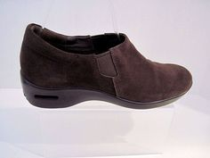 Cole Haan NIKE Air Brown Suede  Waterproof  Comfort Shoes Womens Size 8 1/2 AA #ColeHaan #Comfort #Casual