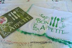 Conjunto Bon Appetit - R$ 33,00 Cod. PMC 179