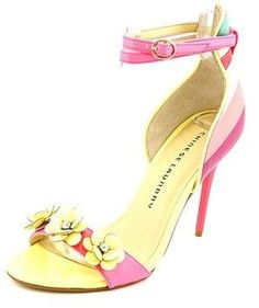 Chinese Laundry Lily Women Open Toe Synthetic Pink Sandals.