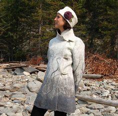 Felted Coat by Elisa Shine, via Flickr