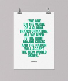 Quotes - New World Order  http://quotes.emefef.com