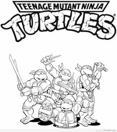 teenage mutant coloring pages.html