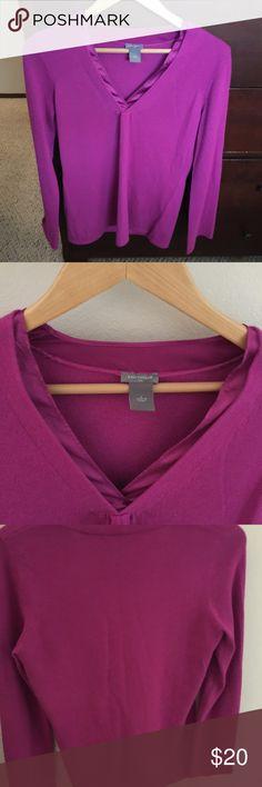 Ann Taylor pink blouse pre loved 💕 size L Ann Taylor pink blouse pre loved 💕 size L Ann Taylor Tops Blouses