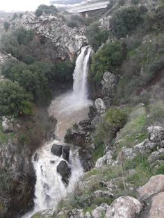 The Saar Waterfall, on the slopes of Mt. Hermon, in northern Israel, is one of the sources of the Jordan River