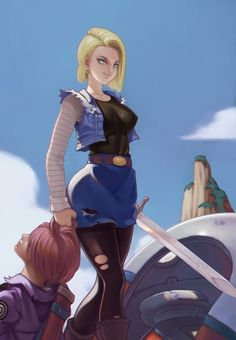Android 18 does not mess around!