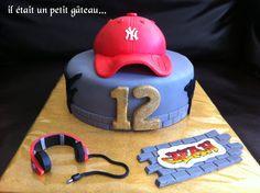 Gâteau hip hop cake