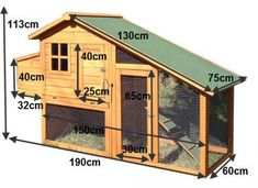 Building A DIY Chicken Coop If you've never had a flock of chickens and are considering it, then you might actually enjoy the process. It can be a lot of fun to raise chickens but good planning ahead of building your chicken coop w Mobile Chicken Coop, Small Chicken Coops, Cheap Chicken Coops, Chicken Coop Run, Chicken Cages, Portable Chicken Coop, Chicken Coop Designs, Backyard Chicken Coops, Building A Chicken Coop