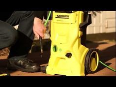 How to set up your Kärcher High Pressure Washer