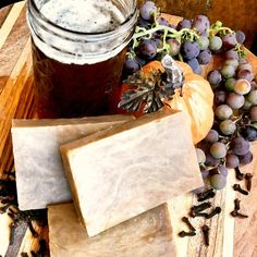 Octoberfest Beer Fall Soap Recipe: Natural Homemade Soap With Cedarwood and Spices--A Perfect Soap for Men — Home Healing Harvest Homestead - Octoberfest Beer Soap Recipe & Directions! Natural Homemade Soap With Cedarwood and Spices — Home - Handmade Soap Recipes, Soap Making Recipes, Handmade Soaps, Diy Soaps, Handmade Products, Beer Soap, Homemade Beer, Recipe Directions, Home Made Soap
