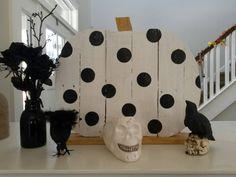 decoración halloween Ideas, Halloween Prop, Wood, Interiors, Art, Thoughts