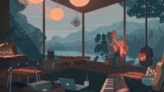 Cozy Autumn Rain Live Wallpaper - WallpaperWaifu