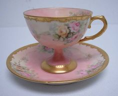 Beautifully delicate cup and saucer