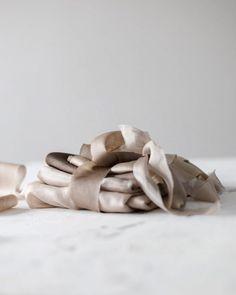 "@floretally on Instagram: ""Black & White Coffee ☕️ . . . . . .  #nature #naturaldye #silk #ribbon #handmade  #handdyed #flowerpower #floraldesign #inspiration #love…"" Black And White Coffee, Black White, Silk Ribbon, Ribbons, Flower Power, Floral Design, Nature, Handmade, Inspiration"