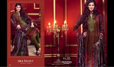 That's #gulahmed winter collection 2015-16! Available in India!  #gulahmed #pakistanisuits #india #womensfashion