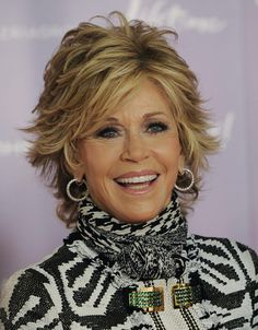 Hair Cuts Short Layers Older Women Jane Fonda 38 Ideas Short Shag Hairstyles, Best Short Haircuts, Hairstyles Haircuts, Layered Hairstyles, Latest Hairstyles, Blonde Hairstyles, Modern Hairstyles, Pixie Haircuts, Short Hair Older Women