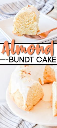 I'm in Love with this Almond Bundt Cake. It's so simple and such an easy cake to make--and it turns out soft and fluffy every time. I'm in Love almond bundt cake Almond Bundt Cake Recipe, Almond Cakes, Almond Cake Recipes, Easy Cakes To Make, How To Make Cake, Quick Cake, Mini Cakes, Cupcake Cakes, Bundt Cakes