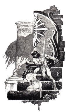 Conan by Earl Norem