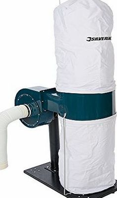 Silverline 425822 Dust Extractor Powerful extractor removes dust and wood chippings from the work area. Sturdy steel construction. Induction motor provides a smooth, long-lasting performance. Wheels allo (Barcode EAN = 5024763131790) http://www.comparestoreprices.co.uk/december-2016-week-1/silverline-425822-dust-extractor.asp
