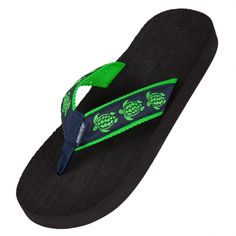 0fca78dca7c84 Time to hit the beach in these cushiony flip flops from Tidewater. The  thong style