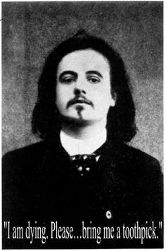 dying words of Alfred Jarry